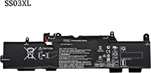 BOWEIRUI HSTNN-LB8G SS03XL (11.55V 50Wh 4330mAh) Laptop Battery Replacement for Hp EliteBook 730 735 740 745 755 830 840 846 G5 745 840 G6 ZBOOK 14U G5 G6 HSN-I12C Series 933321-855 932823-421