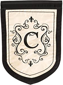Monogram Garden Flag - C
