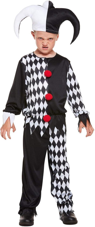 Parches para Disfraz de Payaso Malvado de Jester para niños ...