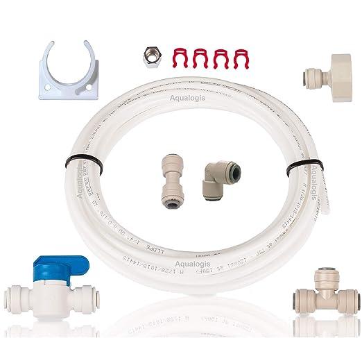 Aqualogis AL-023 - Set de conexión de agua para frigorífico y ...