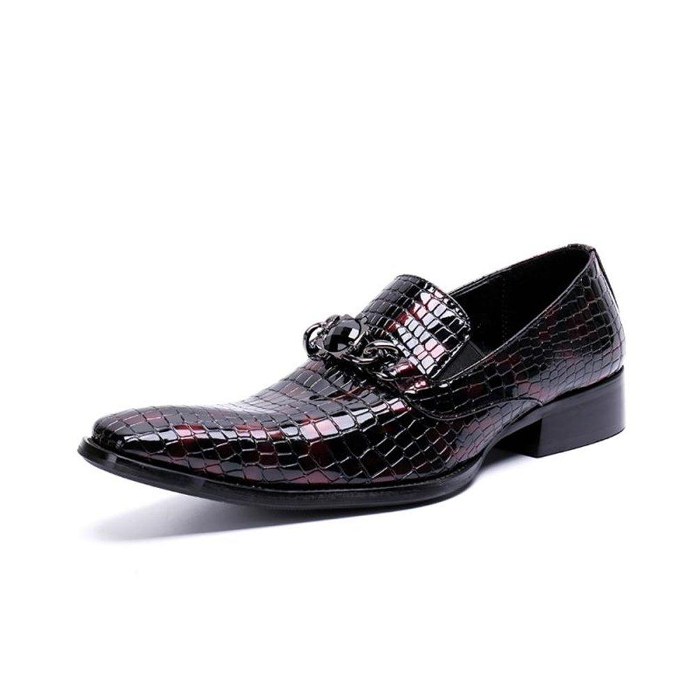 GFP Herren Formelle Schuhe Leder Smart Kleid Hochzeit Schwarz Tan Büro Business Arbeit Abendgesellschaft Casual Herrenmode Schuhe