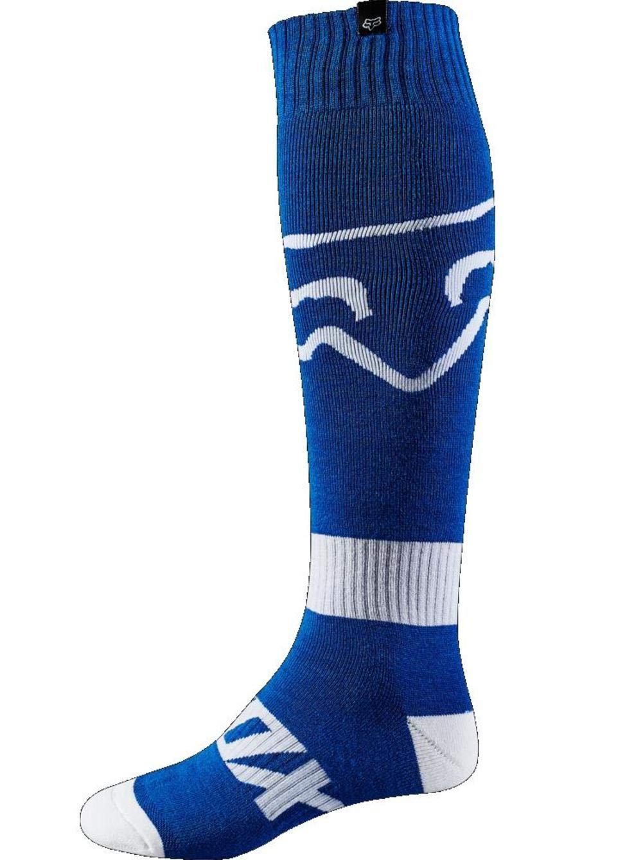 Fox Socks Fri Thin Race, Blue, Taille L FOX HEAD EUROPE 19999-002-L