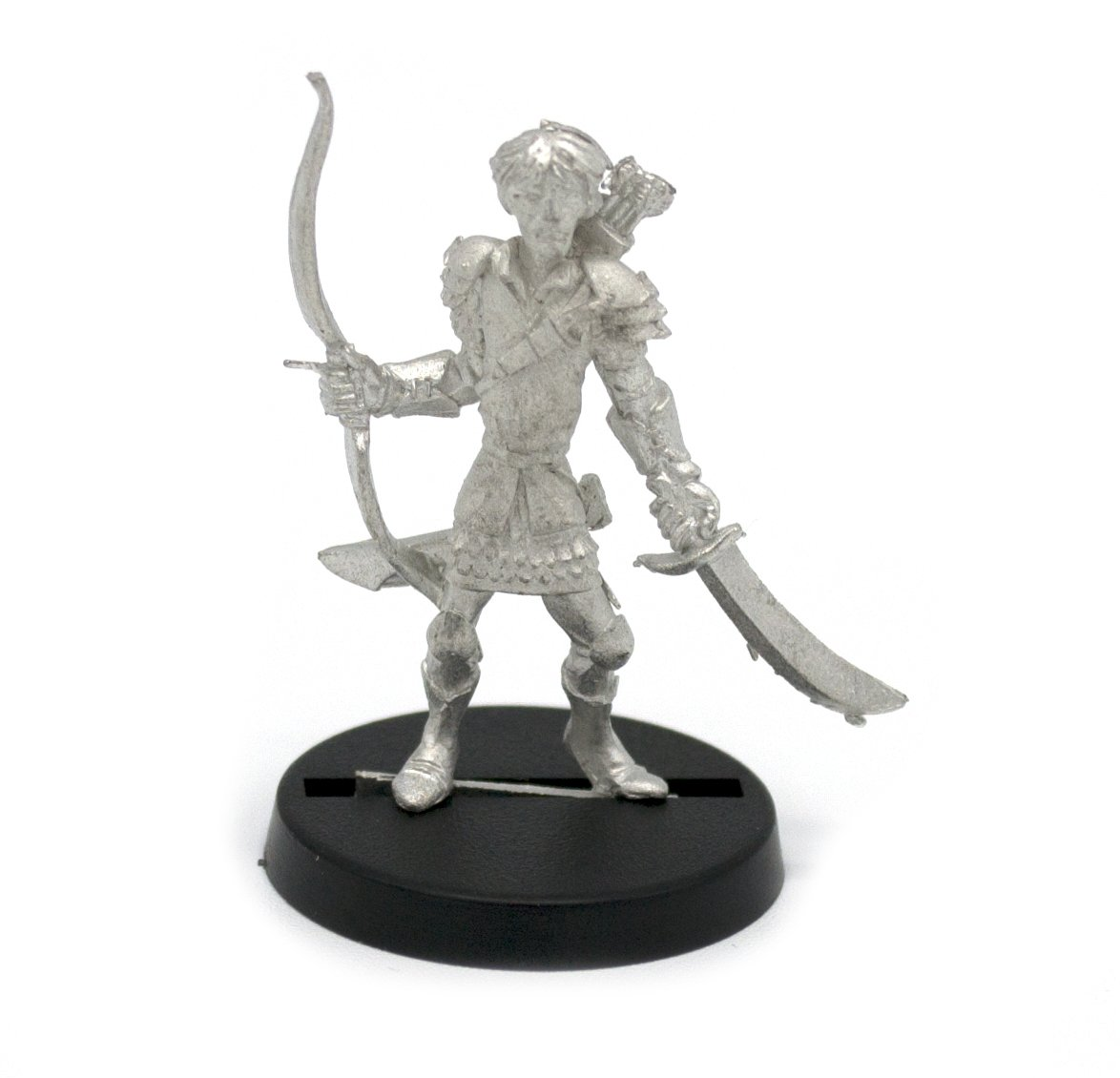 Stonehaven Elf Ranger Miniature Figure for 28mm Table top Wargames - Made in USA Stonehaven Miniatures