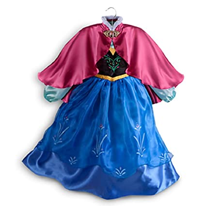 Disney Store Frozen Princess Anna Costume Size Small 5/6 - 5T  sc 1 st  Amazon.com & Amazon.com: Disney Store Frozen Princess Anna Costume Size Small 5/6 ...
