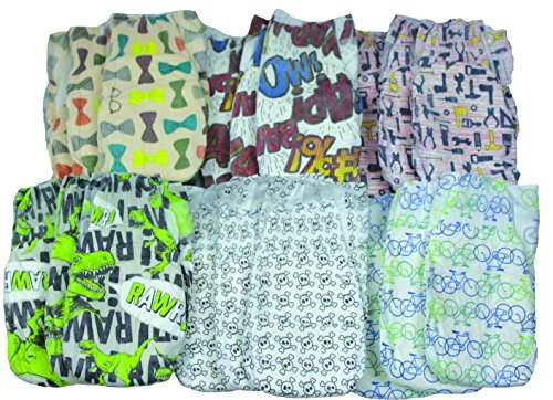 Honest Diapers for Boys Variety Pack Size 3