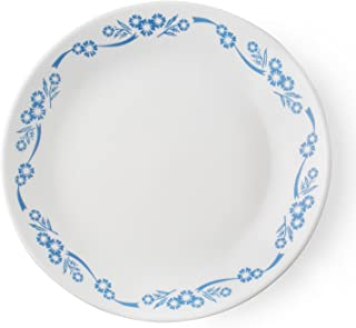 product image for Corelle Livingware Blue/White Glass Cornflower Luncheon Plate 1 pk