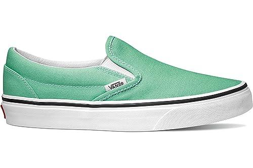 Vans Classic Slip-On Calzado Neptune Green/True White