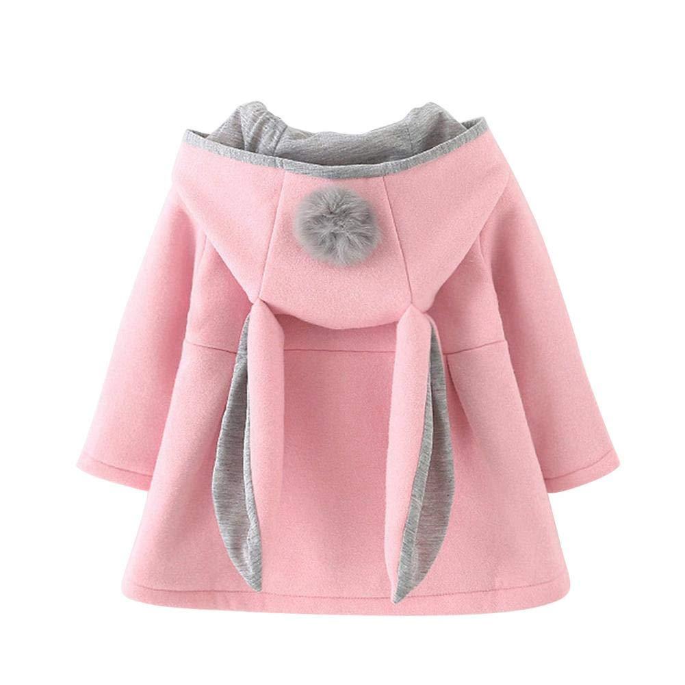 Buy Innersetting Winter Girls Long Sleeve Coat Baby Cute Hooded