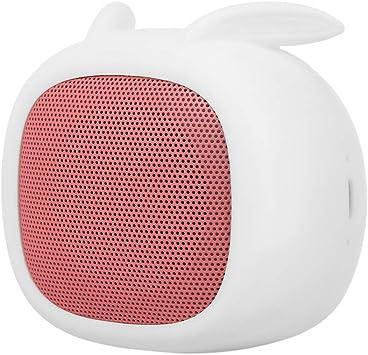 Docooler Smalody Mini Altavoz Bluetooth Caja de Sonido portátil Altavoces de Conejo Lindo con Ranura de micrófono TF para Teléfono Inteligente: Amazon.es: Electrónica