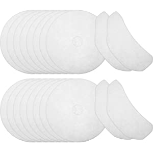 20 Pieces Cloth Dryer Exhaust Filters Compatible with Sonya, Panda Magic Chef and Avant Dryers