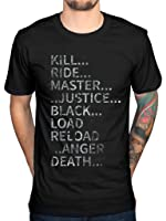 Officiel Album de Metallica Texte T-shirt Band Métal James Hetfield Death magnétique