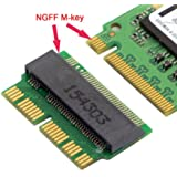 12+16Pin 2014 2015 Mac to M.2 NGFF M-Key SSD Convert Card for A1465 A1466 A1493 A1502