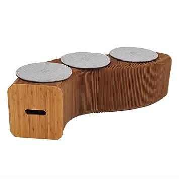 Home Möbel Softeating Modernes Design Accordin Faltblätter Hocker