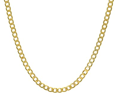 Citerna 9 ct Yellow Gold Thick Belcher Chain Necklace ceMAaZ