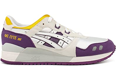 f37281c2be9af ASICS Mens Sportstyle Gel-Lyte Iii Shoes in White/White