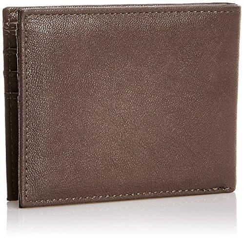monnaie Independent Homme Safe Marron Porte Wallet Foncé nvxTv7