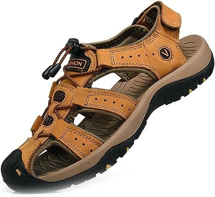 Sandalias de Verano para Hombres Zapatos Transpirables para ...