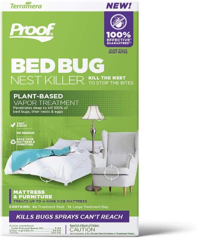 Amazon Com Proof Bed Bug Nest Killer Vapor Treatment Large Garden Outdoor