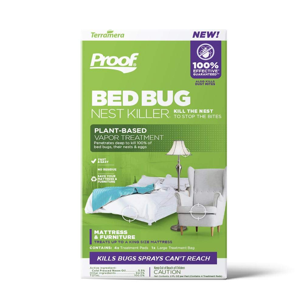 Proof Bed Bug & Dust Mite Killer (Vapor Treatment, Large) by Proof