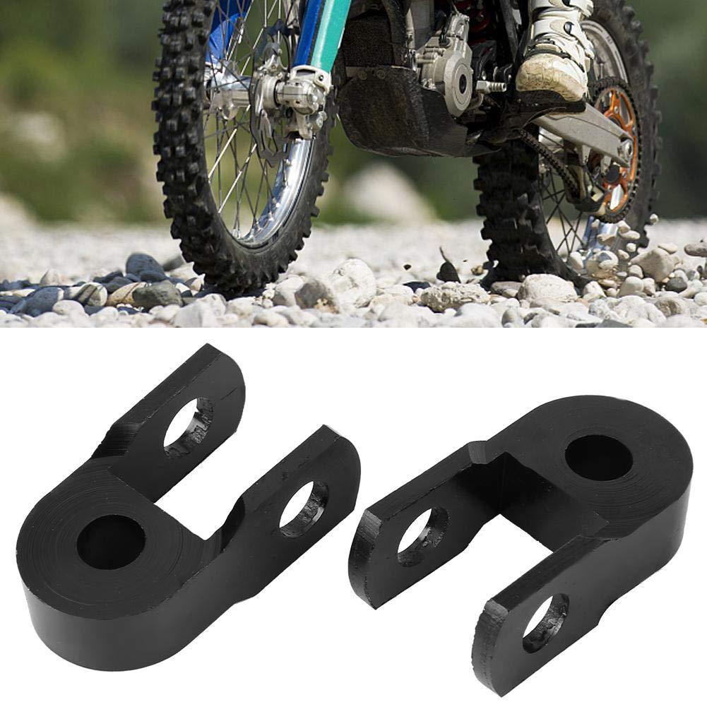 Amortiguador de aluminio has screws extensor de extensi/ón de altura de amortiguador de CNC negro Elevador para Quad Moto Motor Pit Dirt Trail Bike