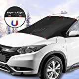 Car Windshield Snow Cover with Magnetic Edges 2win2buyau New Front Auto Window Cover Winter Snow Removal Ice Frost Guard…