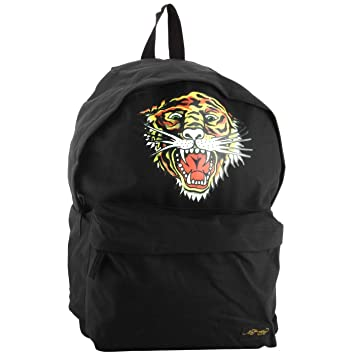 cdde34e24446 Ed Hardy Shane Tiger Backpack-Black-One Size  Amazon.in  Bags ...