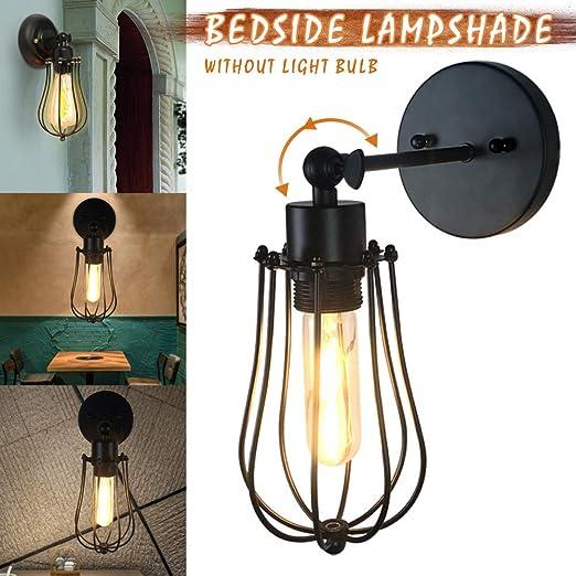 LilouGG - Pantalla para lámpara de Pared, diseño de Jaula de ...