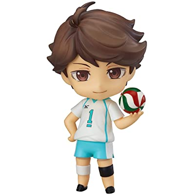 Good Smile Haikyuu: Toru Oikawa Nendoroid Action Figure: Toys & Games