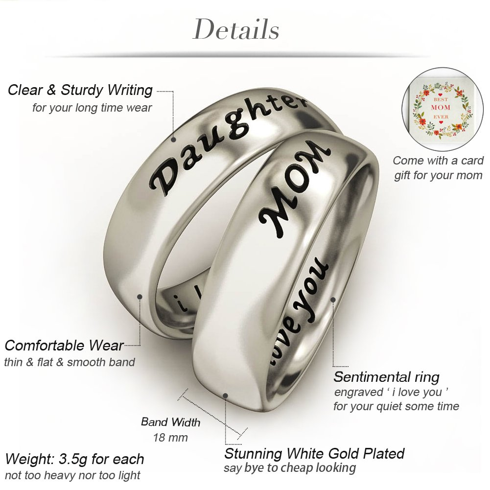 engraved dp personalized wedding com couples ring purity sterling amazon silver bands promise