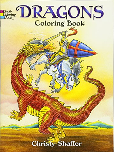 Dragons Coloring Book (Dover Coloring - Tales Dragon Book Coloring