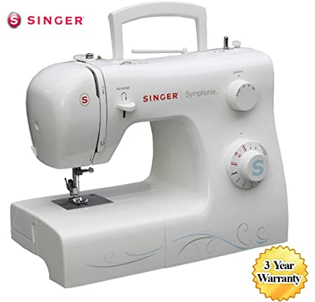 Singer Symphonie 40 Sewing Machine White Amazoncouk Kitchen Enchanting White Sewing Machine Models