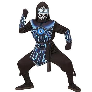NET TOYS Disfraz Infantil de Ninja Ciber - 135 - 140 cm, 8 ...