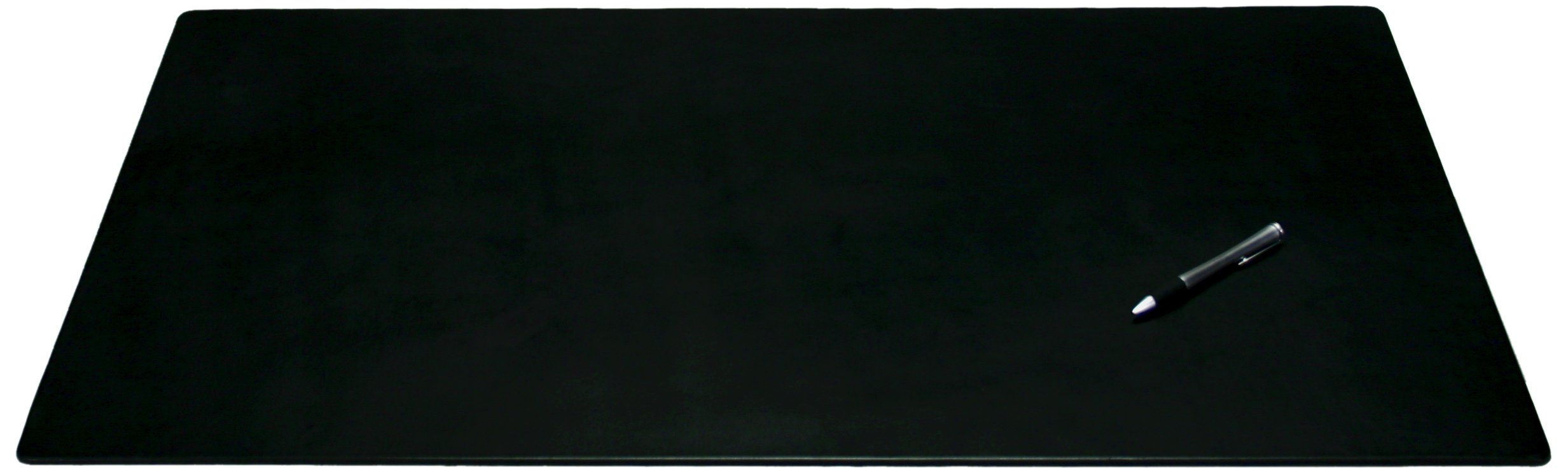 Dacasso Black Leather Desk Mat, 38-Inch by 24-Inch
