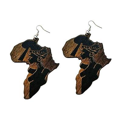 Massaï Gudeke Femme D Boucles Carte Femmes Bois De L'afrique nO8Pk0wX