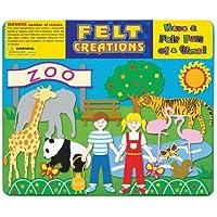 Felt Creations Zoo Felt Story Board