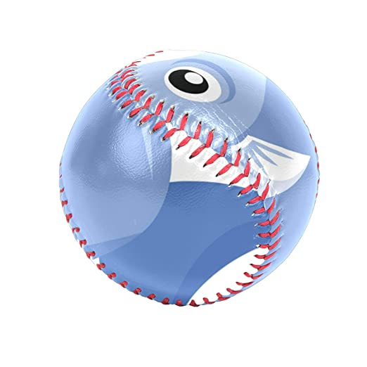 0920044ad7280 Amazon.com: Baseballs A Fish On White Background Baseball Ball for ...