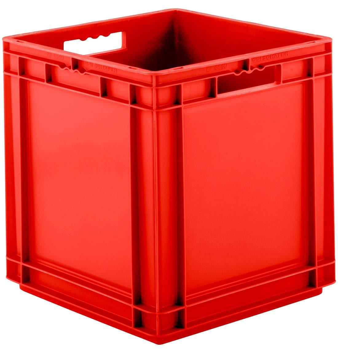 53,9 l rot ohne Deckel SSI Sch/äfer Kasten im EURO-Ma/ß EF 4440