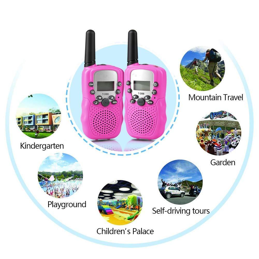 Walkie Talkies Two Way Radios 22 Channel 3000M UHF Long Range Handheld Talkies Talky by VERDUO (Image #2)
