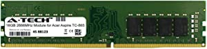 A-Tech 16GB Module for Acer Aspire TC-865 Desktop & Workstation Motherboard Compatible DDR4 2666Mhz Memory Ram (ATMS267503A25823X1)