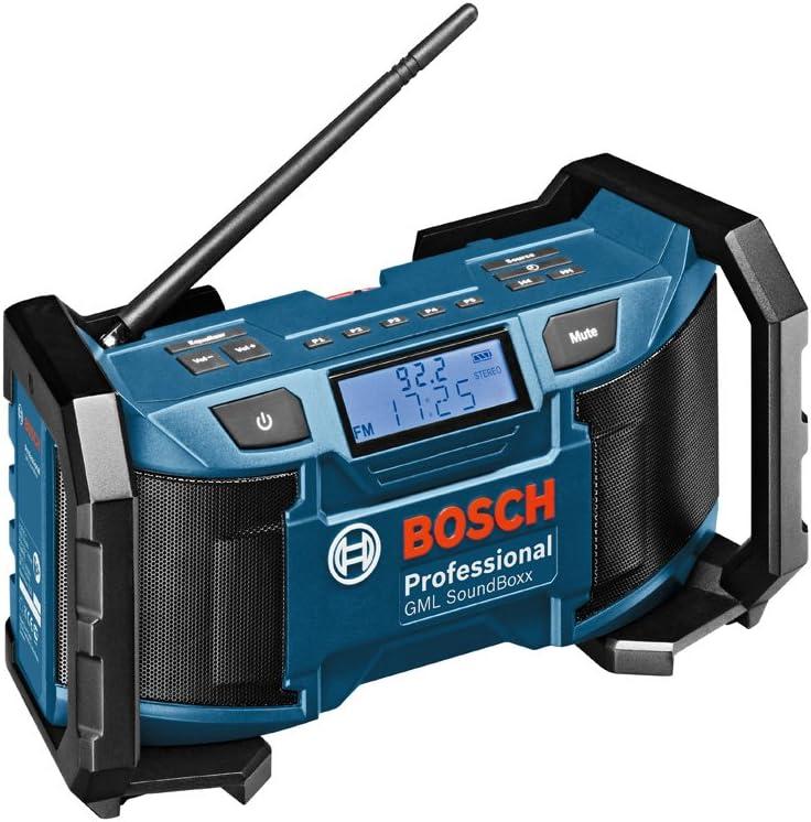 Construction Stereo Sport CD Player AM//FM Radio Boom Box Loud Bass Jobsite Box