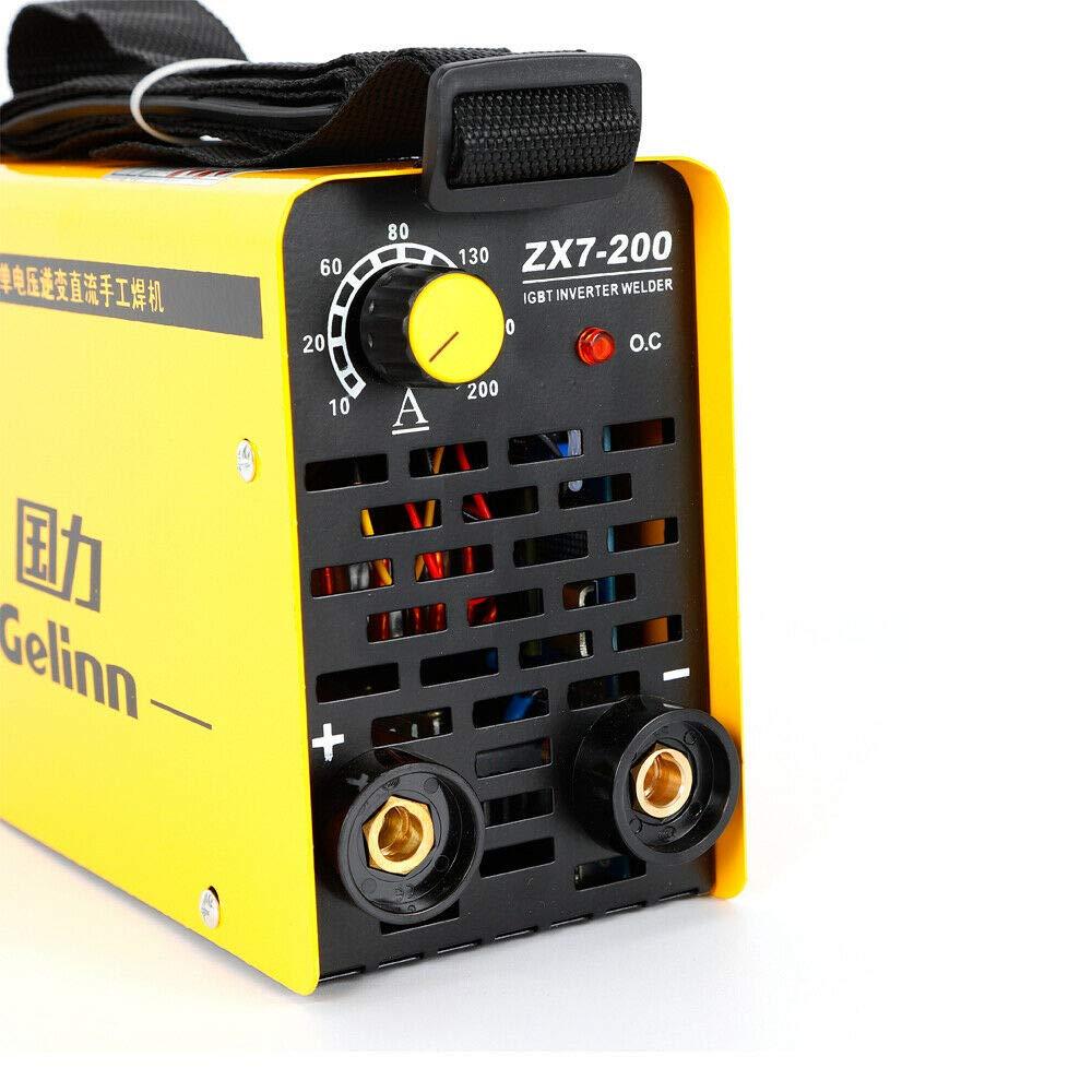 Portátil Eléctrico 40W Inversor de soldadura IGBT ZX7-200 EQUIPO DE SOLDADURA soldadoras DHL: Amazon.es: Bricolaje y herramientas