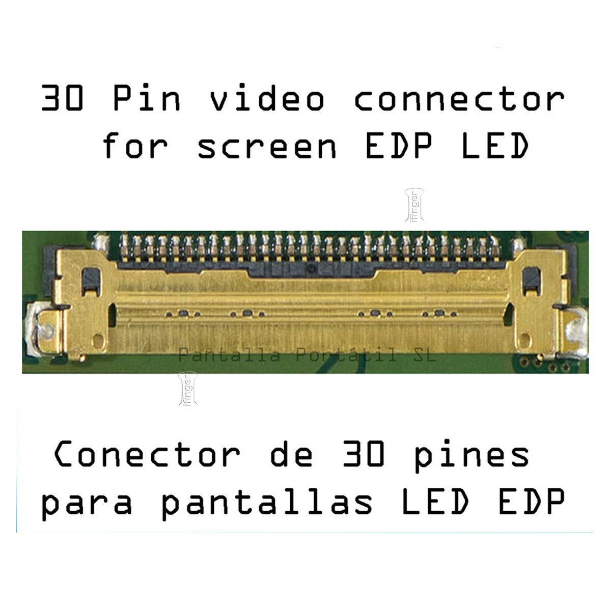 IFINGER Pantalla para Lenovo IDEAPAD 100-15IBD