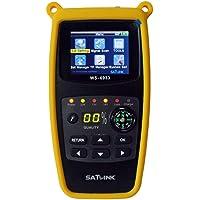 Satlink WS-6933 DVB-S2 FTA C and KU Band Digital Satellite Finder Meter wtih Compass