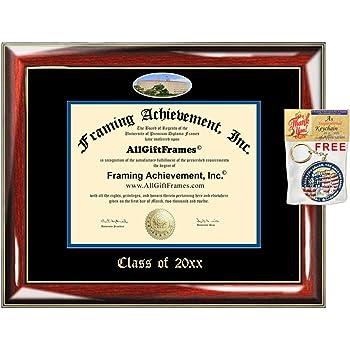 Amazon Allgiftframes Custom Diploma Frame Embossed University