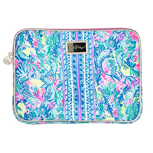 Lilly Pulitzer Tech Sleeve Fits up to 13 inch Laptop (Mermaid Cove) from Lilly Pulitzer