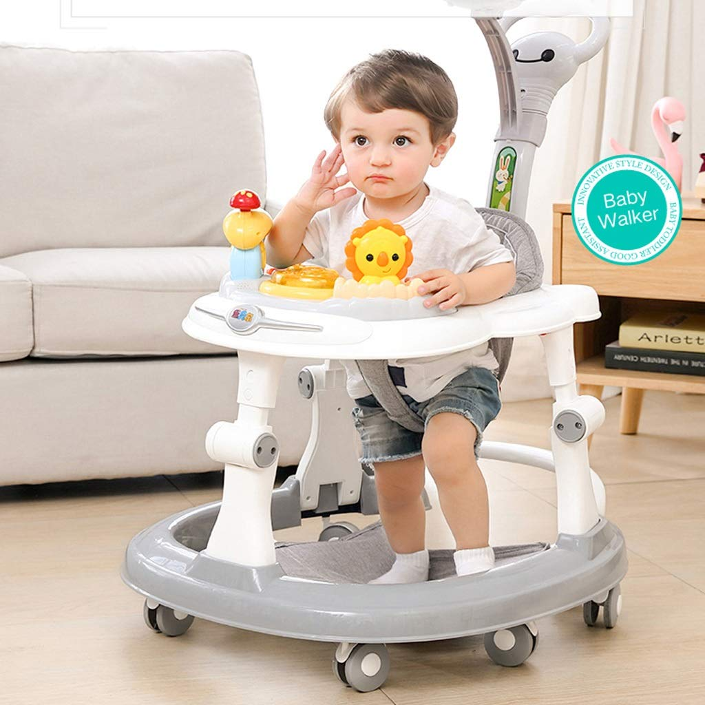 Andadores Baby Walker, Anti-o-leg Multi-función Anti-rollover ...