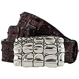 Gut Instinkt Handcrafted Luxury Italian Leather Leopard Print Belt GADIA LOHAR