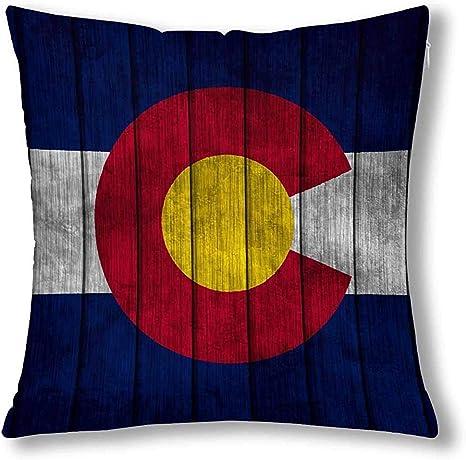 Grunge - Funda de cojín con diseño de Bandera del Estado de ...