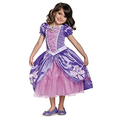 Next Chapter Deluxe Sofia The First Disney Junior Costume, Medium/3T-4T: Toys & Games
