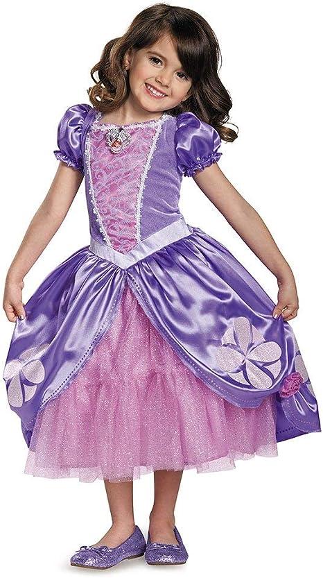 Amazon.com: Disfraz de la Princesa Sofía de Disney ...